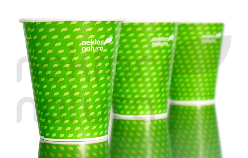 Nektar Natura Paper Cups come with our free refill solutions